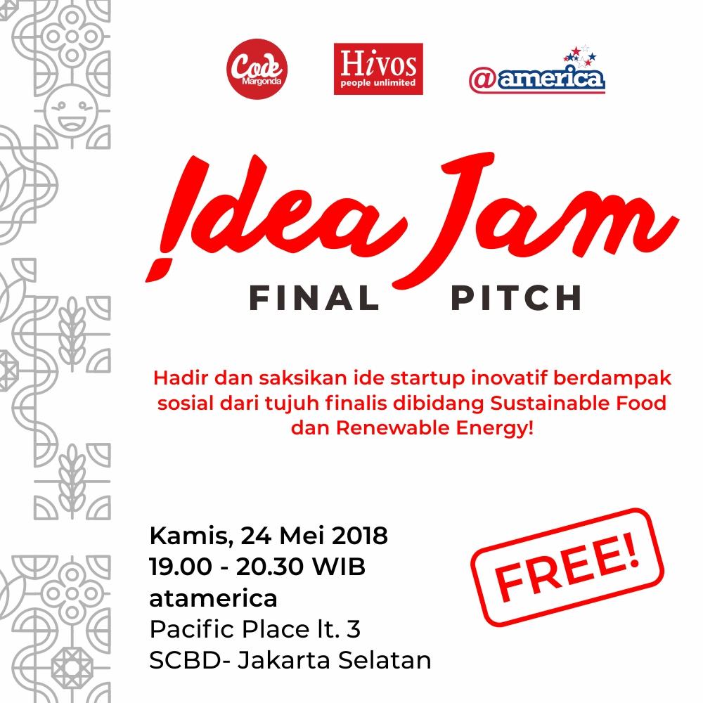 Poster Idea Jam Final Pitch