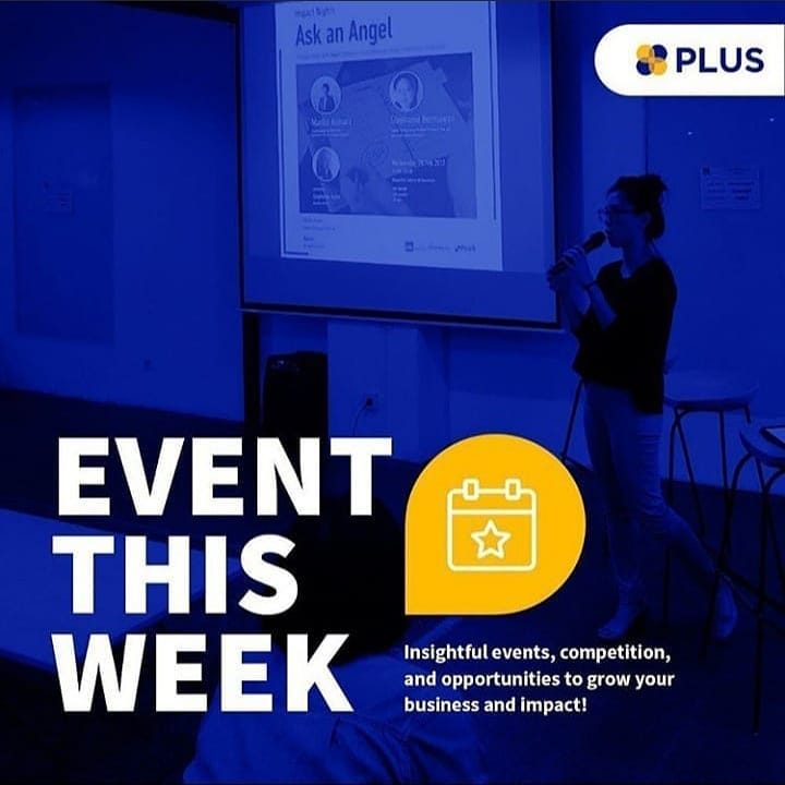 <div>Upcoming events and opportunities to level up your business and impact.  Swipe >> for more!</div>