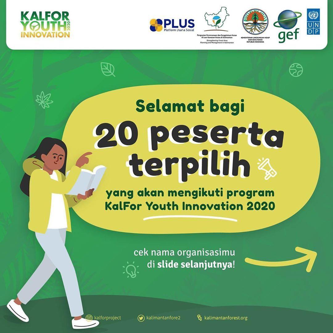 Halo Pegiat Lingkungan muda! Setelah melalui proses penjurian yang cukup panjang, kami, tim KalFor Youth Innovation 2020...