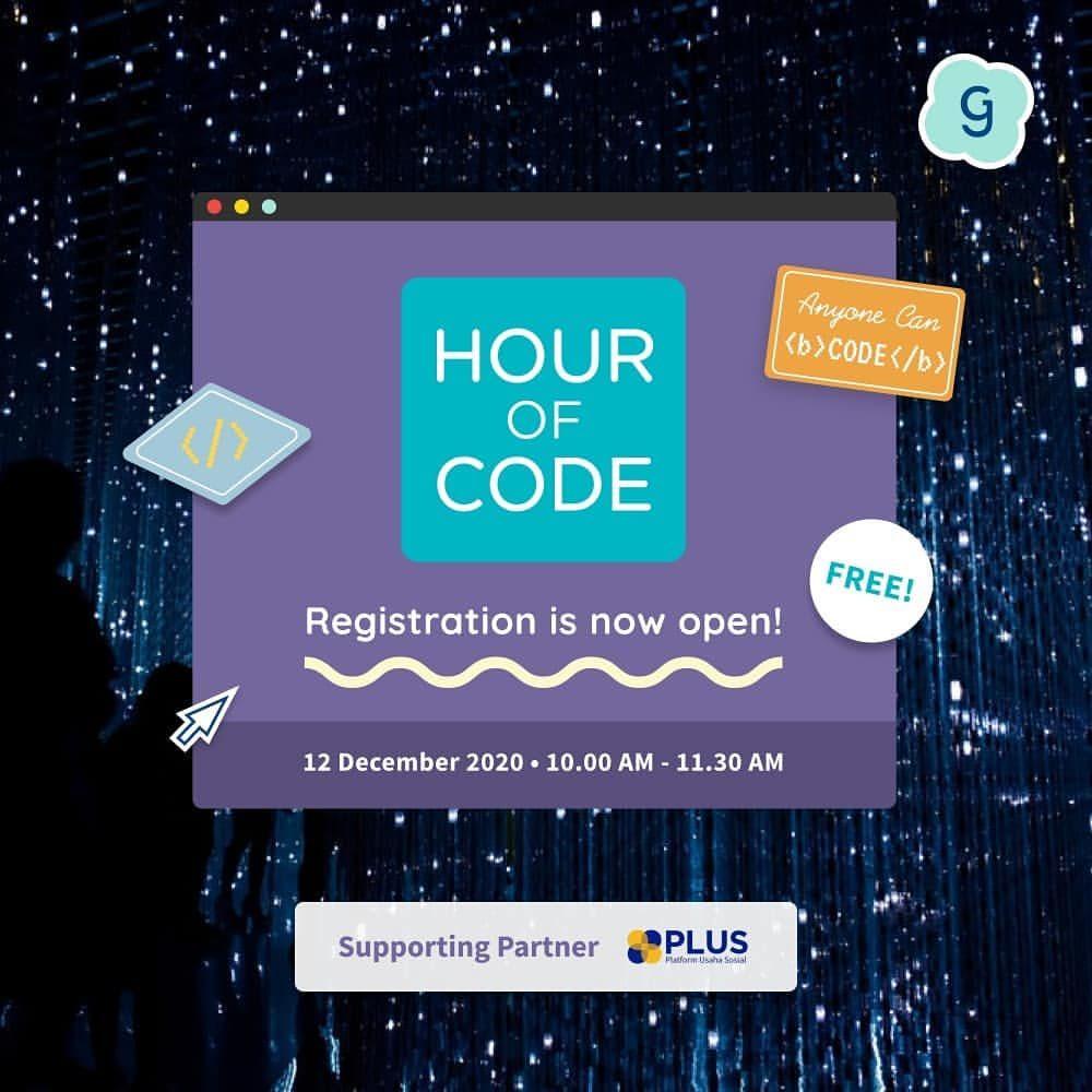 Hour of Code PERTAMA yang terbuka buat seluruh Indonesia telah dibuka! ?  Generation Girlakan melaksanakan event Hour ...