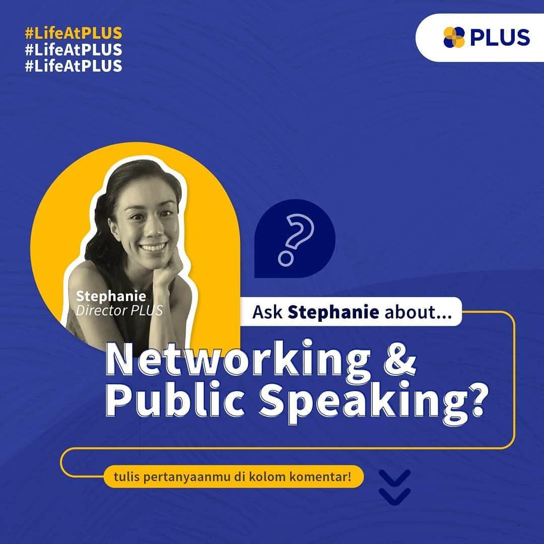 Sudah baca tips Stephanie tentang bagaimana membangun percaya diri dalam public speaking dan networking? Masih punya per...