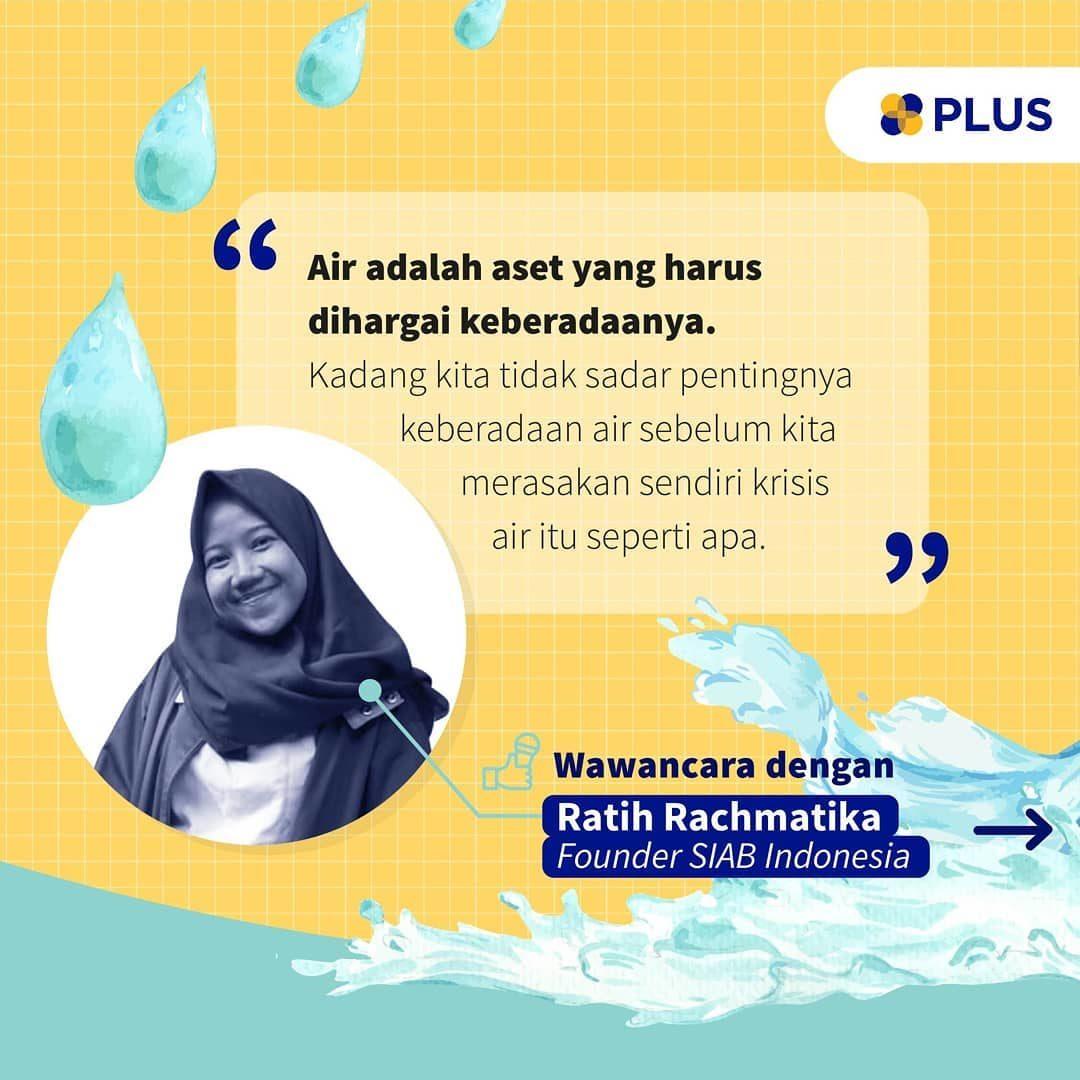 """""""Air adalah kehidupan, dan air bersih berarti kesehatan,"""" begitu yang dikatakan oleh artis sekaligus salah satu Duta UNI..."""