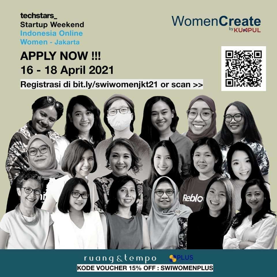 #SWIWomen Pendaftaran SWI Online Women - Jakarta telah dibuka!  Di tanggal 16 - 18 April 2021 nanti, kalian bisa bertemu...