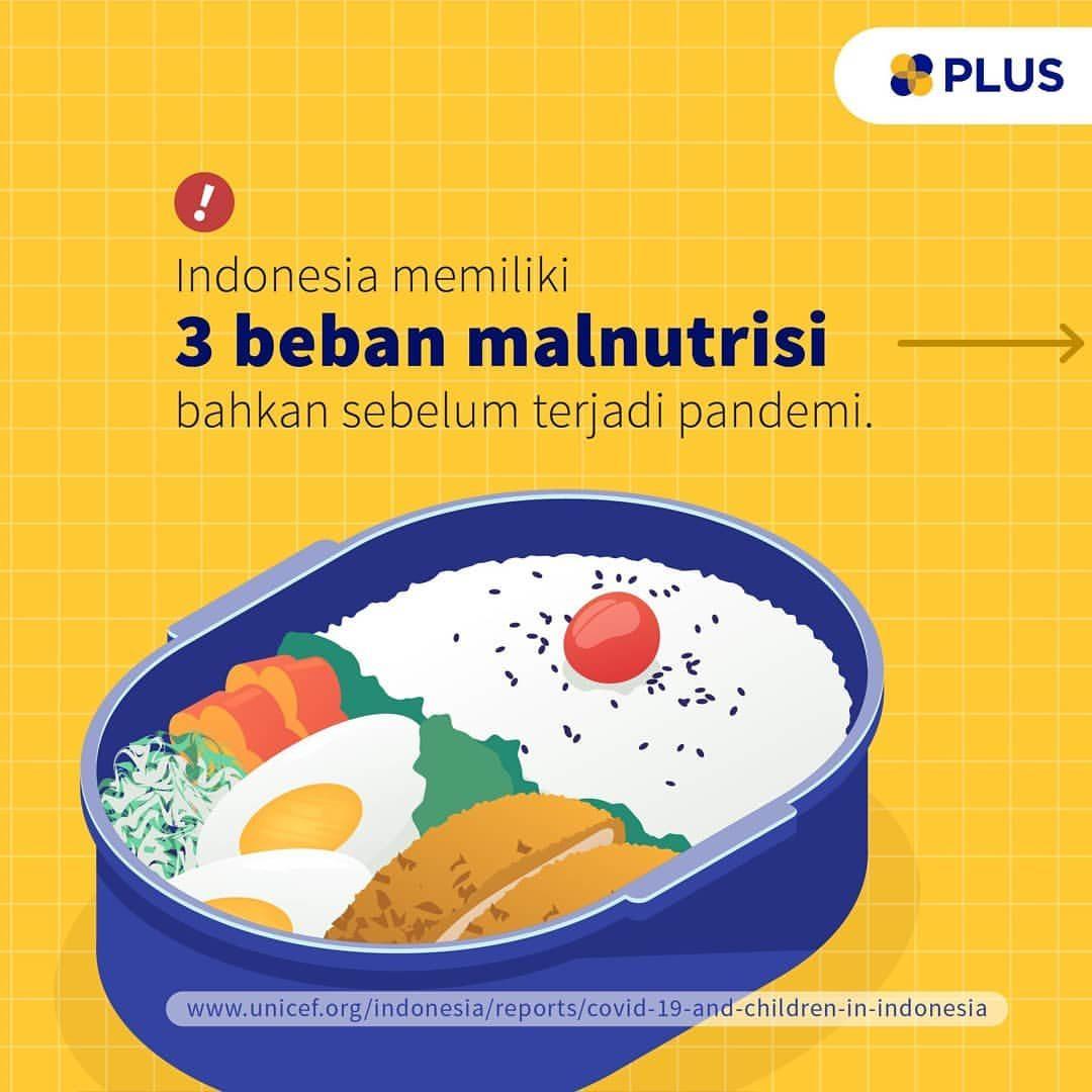 Indonesia memiliki 3 isu malnutrisi, mulai dari stunting dan gizi buruk pada anak hingga tingginya angka obesitas. Masal...