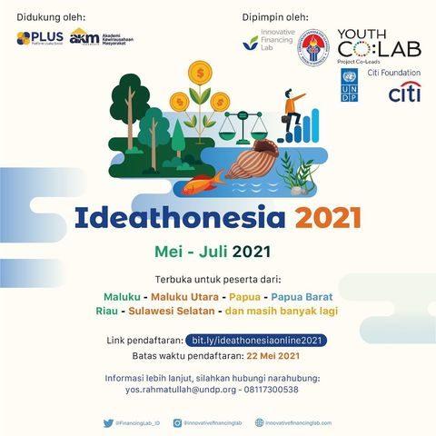 Ideathonesia Online Kembali hadir! . .  Apakah kamu tertarik untuk mengembangkan ide bisnis mu menjadi ide bisnis yang b...