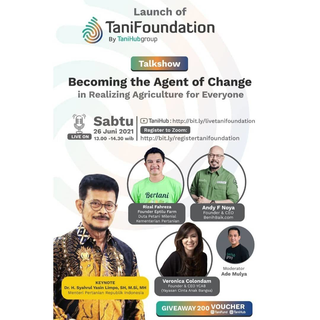 TaniFoundation lahir sebagai partner dari TaniHub Group untuk semakin mendukung kesejahteraan hidup para petani di ladan...