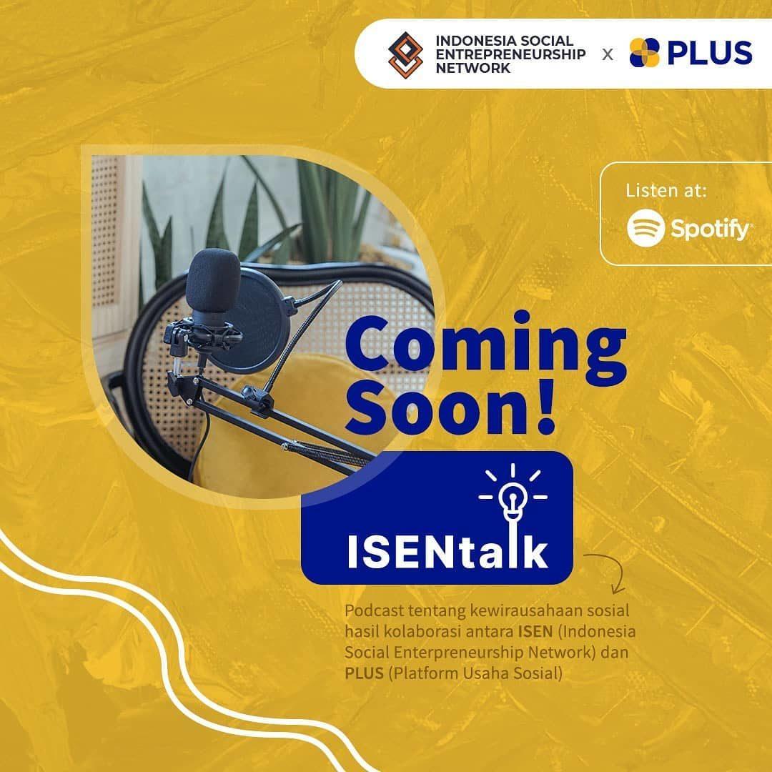 <div>Ssstt ada yang baru nih ?  Perkenalkan ISEN Talk, ruang berbagi cerita bagi ekosistem usaha sosial✨ Geser kanan >> untu...</div>