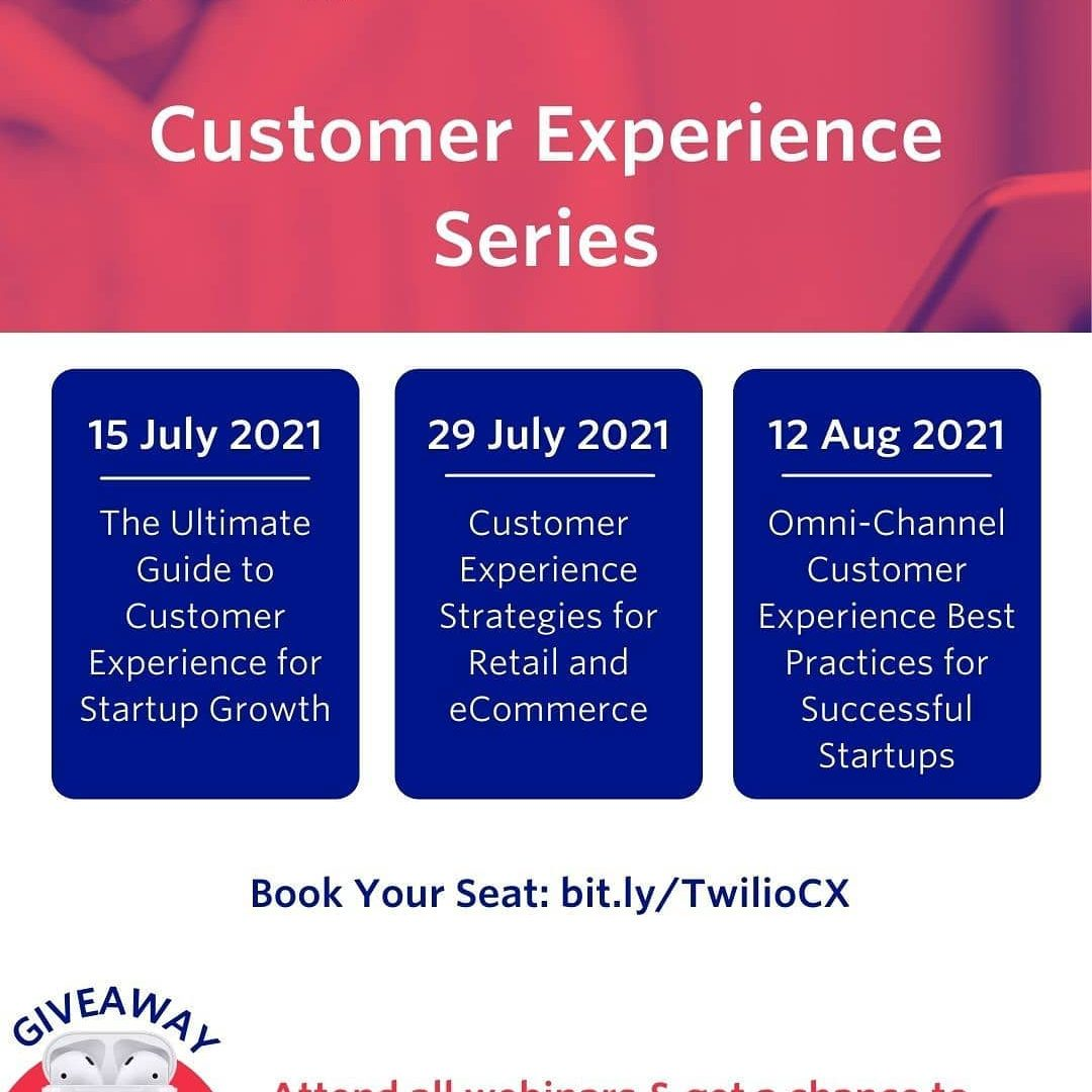 Kembangkan startup anda dan tingkatkan pelanggan melalui strategi Customer Experience!  Customer Experience Series prese...